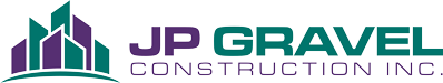 JP Gravel Construction Logo